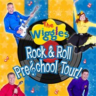 the wiggles rock n roll pre school tour